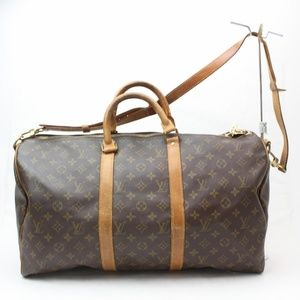 Auth Louis Vuitton Keepall Bandouliere #892L31